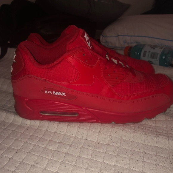Shoes   Air Max 9s All Red   Poshmark